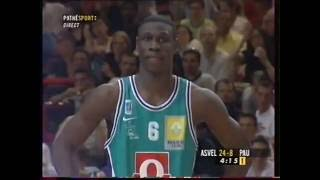 Orthez France  City pictures : ASVEL - EB Pau Orthez Finale Coupe de France 2001