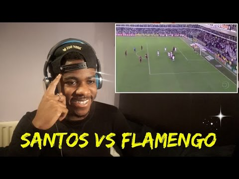 FLAMENGO (Ronaldinho) 5 - 4 (Neymar) SANTOS  👊✨ | Reaction