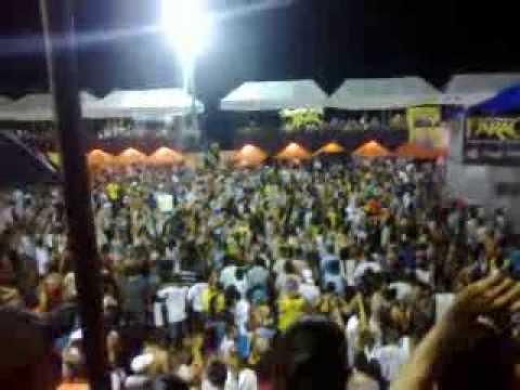 Carnaval de Vigia 2014 - Chegada do Bloco do Tatu