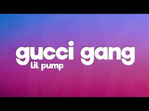Lil Pump - Gucci Gang (Lyrics)