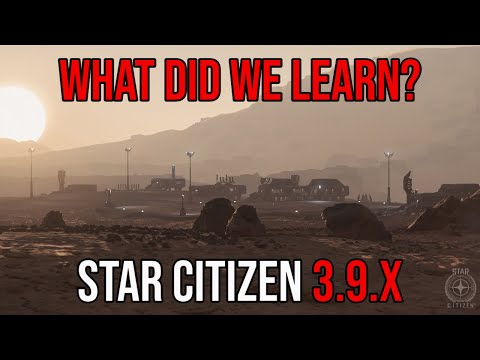 Failures of Star Citizen Alpha 3.9