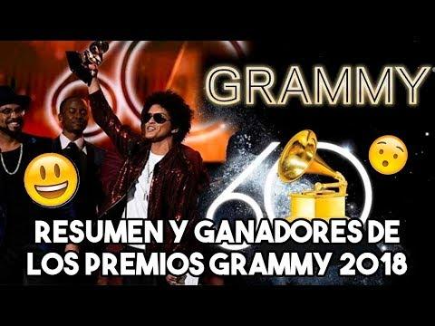 Resumen y Ganadores Premios Grammys 2018 Edicion 60