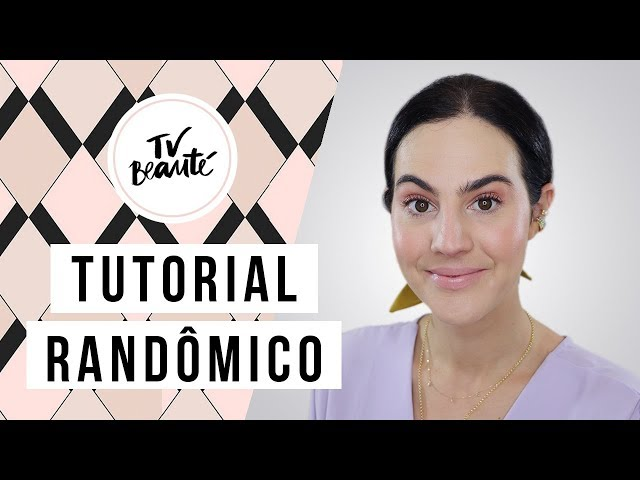 Tutorial Randômico: Testando Novos Produtos - TV Beauté | Vic Ceridono - Victoria Ceridono