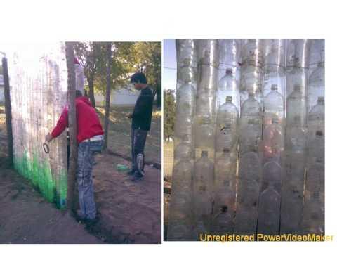 Pequeño invernadero con botellas de plástico 02 07 20 44 wmv