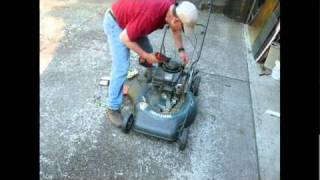 Time Lapse Device and Lawn Mower Repair