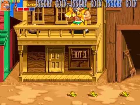 Wild West C.O.W.-Boys of Moo Mesa  MAME Gameplay video Snapshot -Rom name moo-