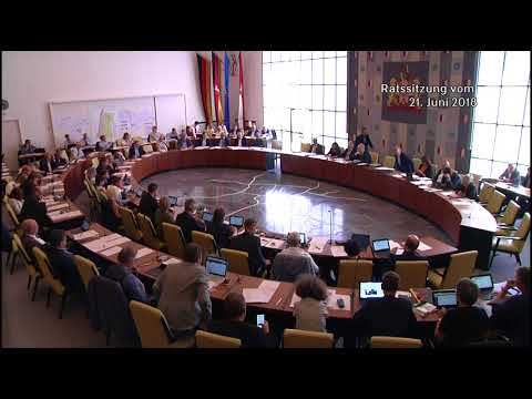 Ratsversammlung des Stadtrats Hannover vom 21.06