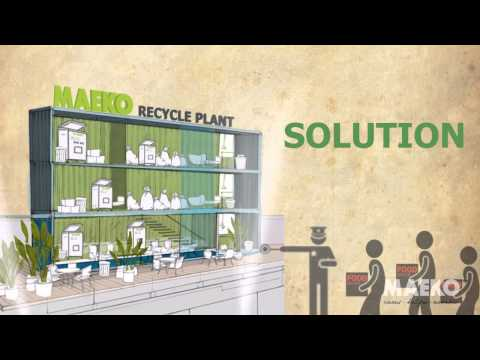 MAEKO Food Waste Composting Solution