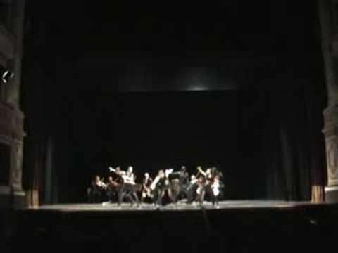 Simone Ginanneschi experiment choreography (outrule hip hop on Vivaldi) @ Umbria Music Fest