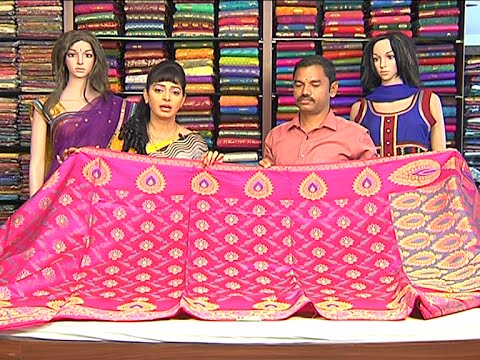Lightweight Sindhura Pattu Sarees | Sogasu Chuda Tarama | Vanitha TV 23 July 2015 11 19 AM