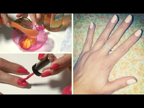 Tutorial MANICURE • Cura delle UNGHIE step by step