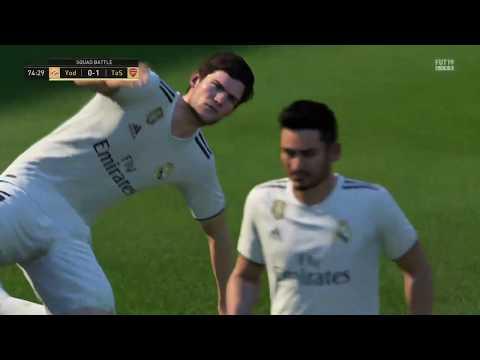Squad Battles! (FIFA 19 Ultimate Team Gameplay) | Yodsaenklai