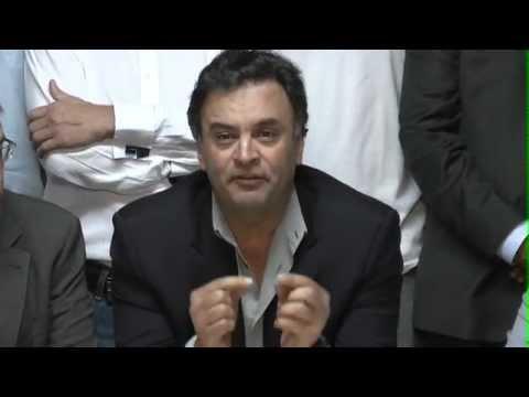 Aécio Neves: eleições municipais de BH