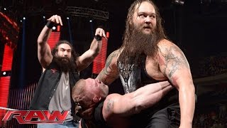 Tensions rise as Roman Reigns and Brock Lesnar appear on