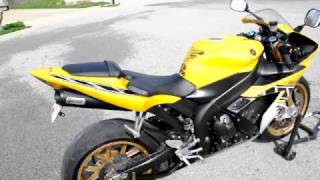 2. 2006 Yahama YZF-R1 LE Start Up