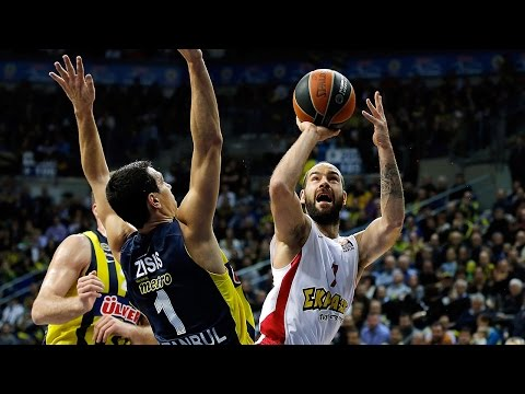 Highlights: Fenerbahce Ulker Istanbul-Olympiacos Piraeus