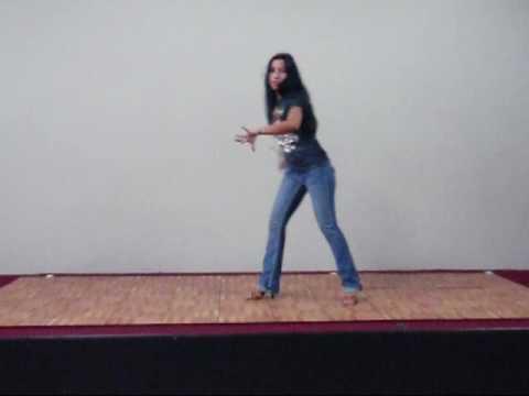 Еще одна комбинация сольной партии танца сальса - обучение