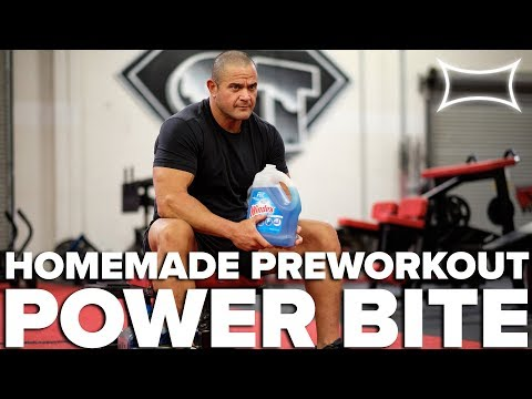 Mark Bell's Homemade Pre Workout Drink | Power Bite