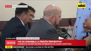 Caso Quintana: se inicia audiencia de imposición