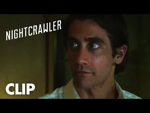 Nightcrawler Clip 'We're Running It'