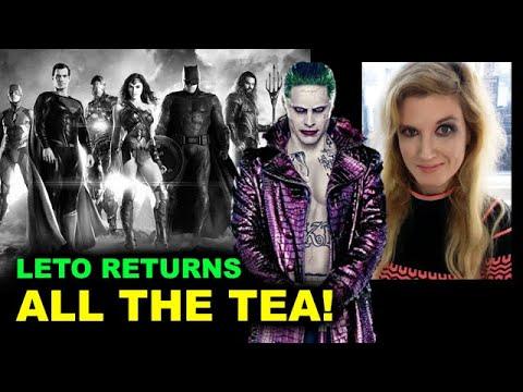 Snyder Cut 2021 - Jared Leto Joker CONFIRMED
