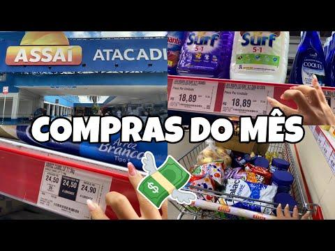 COMPRAS DO MÊS NO ATACADÃO | TUDO MUITO CARO + QUANTO DEU TUDO