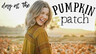 DAY AT THE PUMPKIN PATCH | Meghan Rienks by Meghan Rienks