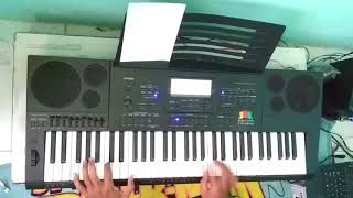 Halaqah Cinta - cover PIANO Casio CTK 7200 (CLEAN)