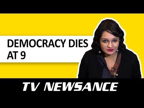 TV Newsance Episode 43: Death Of News And Democracy