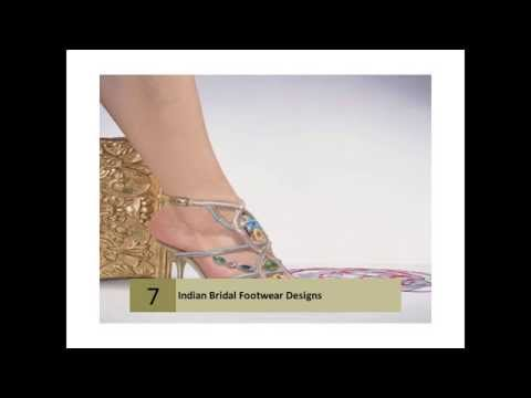 Indian Bridal Footwear Designs