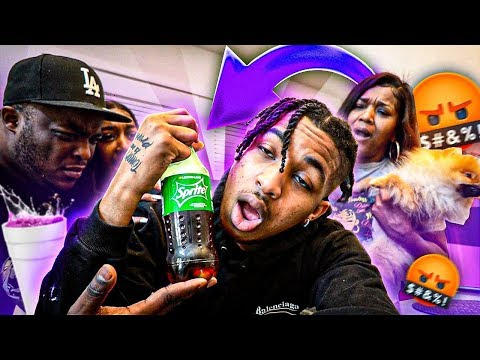 """I STARTED SIPPIN' """"LEAN"""" IN FRONT OF MY FAMILY & THIS HAPPENED!! 😳"""