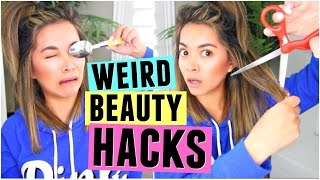6 WEIRD BEAUTY HACKS That Actually Work! by ThatsHeart