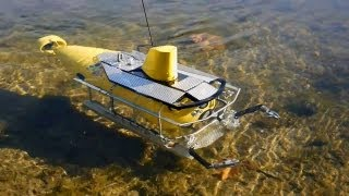 R/C Yellow Submarine FPV-Diving / Ferngesteuertes U-Boot