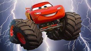Мультики про Машинки. ТАЧКИ Молния МАКВИН - МОНСТР ТРАК продолжение. Cars Toon.#Мультик игра.Disney