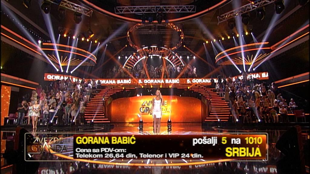 Gorana Babić – Ostrvo tuge – 44 emisija (27. 06. – polufinale)