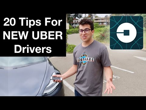 20 TIPS FOR NEW UBER DRIVERS!