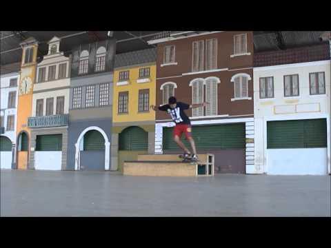 Paulo Eller SkateBoard Venda Nova do Imigrante, testando o novo caixote.