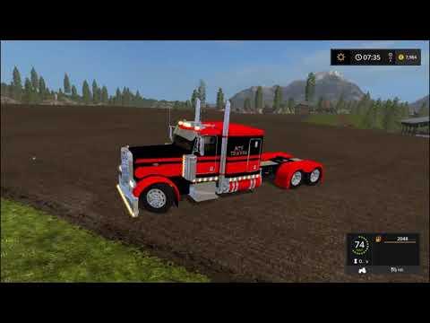 Truck Peterbilt FlatTop v1.0