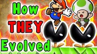 Super Mario - Evolution Of The MUNCHERS (1988 - 2019)