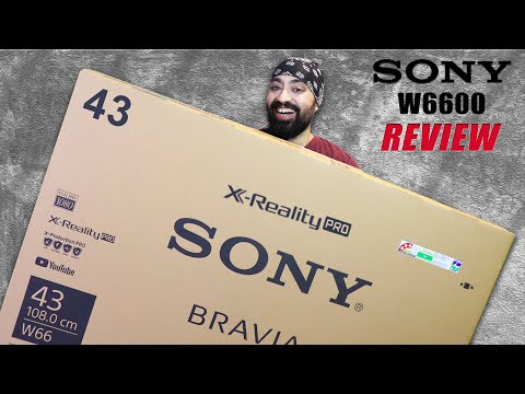 Sony Bravia 43 inch Full HD Smart TV W66 (2020 Variant) - If Quality is your Priority 🔥
