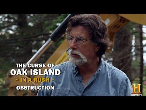 The Curse of Oak Island (In a Rush) | Season 5, Episode 3 | Obstruction
