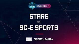 STARS vs SG-e Sports, ESL One Hamburg 2017, game 2 [Mortales]