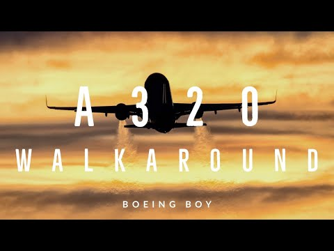 Know an airliner in detail! Walkaround of an Airbus A320!