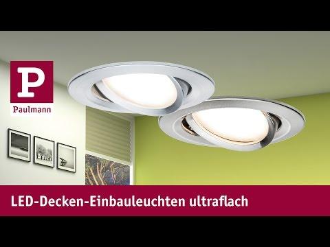 LED Einbaustrahler ultraflach