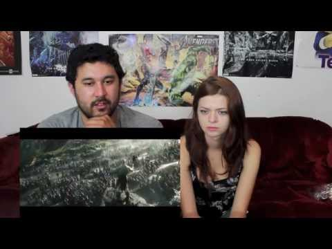 the hobbit - The trilogy will finally be complete with THE HOBBIT: THE BATTLE OF FIVE ARMIES!!! This is Ryan & Sally's reaction to the new trailer!!! SALLY'S CHANNEL https://www.youtube.com/user/SallamanderSal...