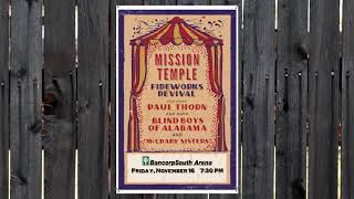 Paul Thorn - Mission Temple Fireworks Revival at BCS Arena