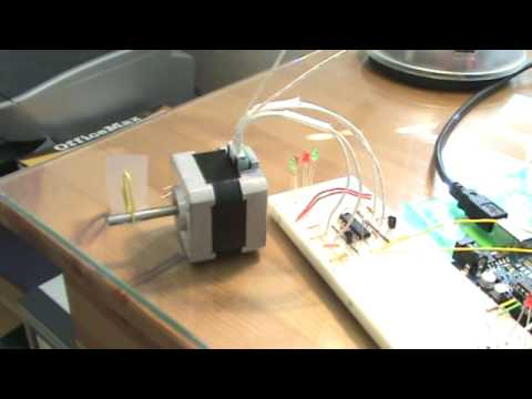 Arduino with Bipolar Stepper Motor