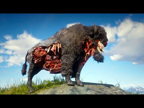 Playing as DEAD BISON in Red Dead Redemption 2 PC