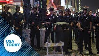 People Injured At Vigil For Slain Rapper Nipsey Hussle   USA TODAY