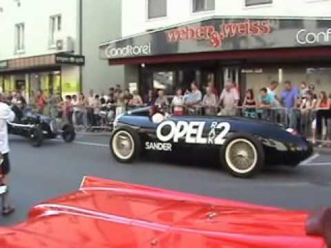 Oldtimer Korso in Friedrichshafen